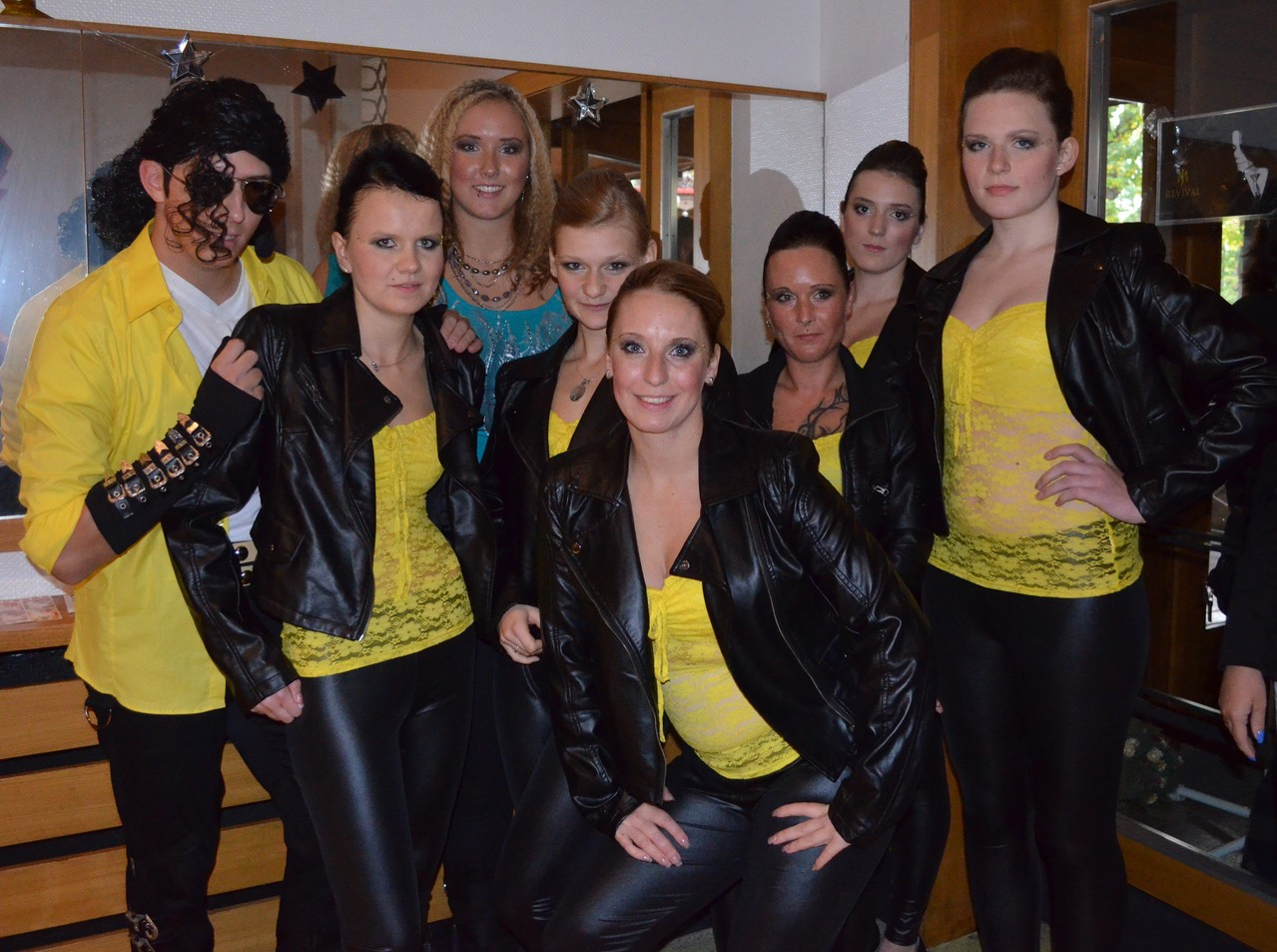 hier beim MJ-Revival in Borgsdorf