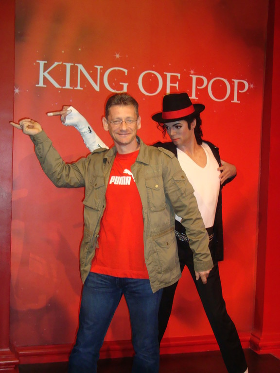 Mike - Madame Tussauds in London