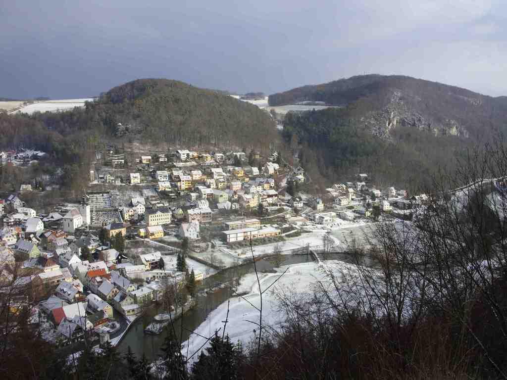 Muggendorf, Winterblick vom Frauenstein