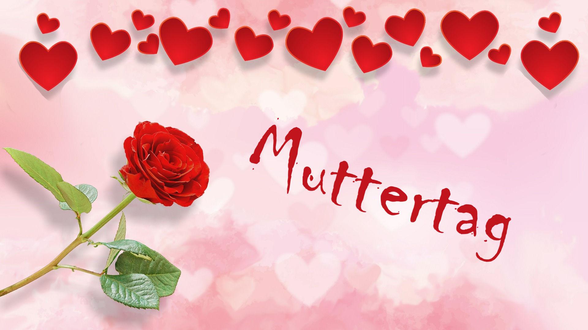 Am 9. Mai ist Muttertag!