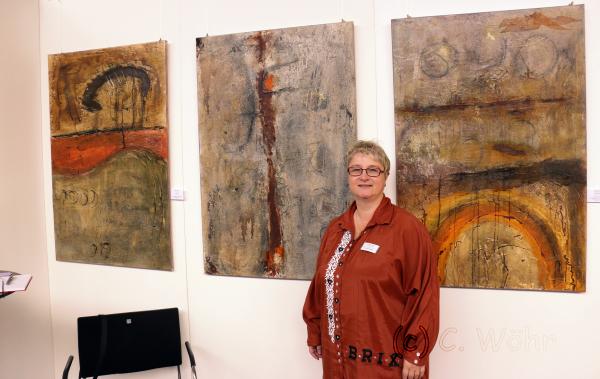 Kunstausstellung 2013 in der Strudelbachhalle Weissach