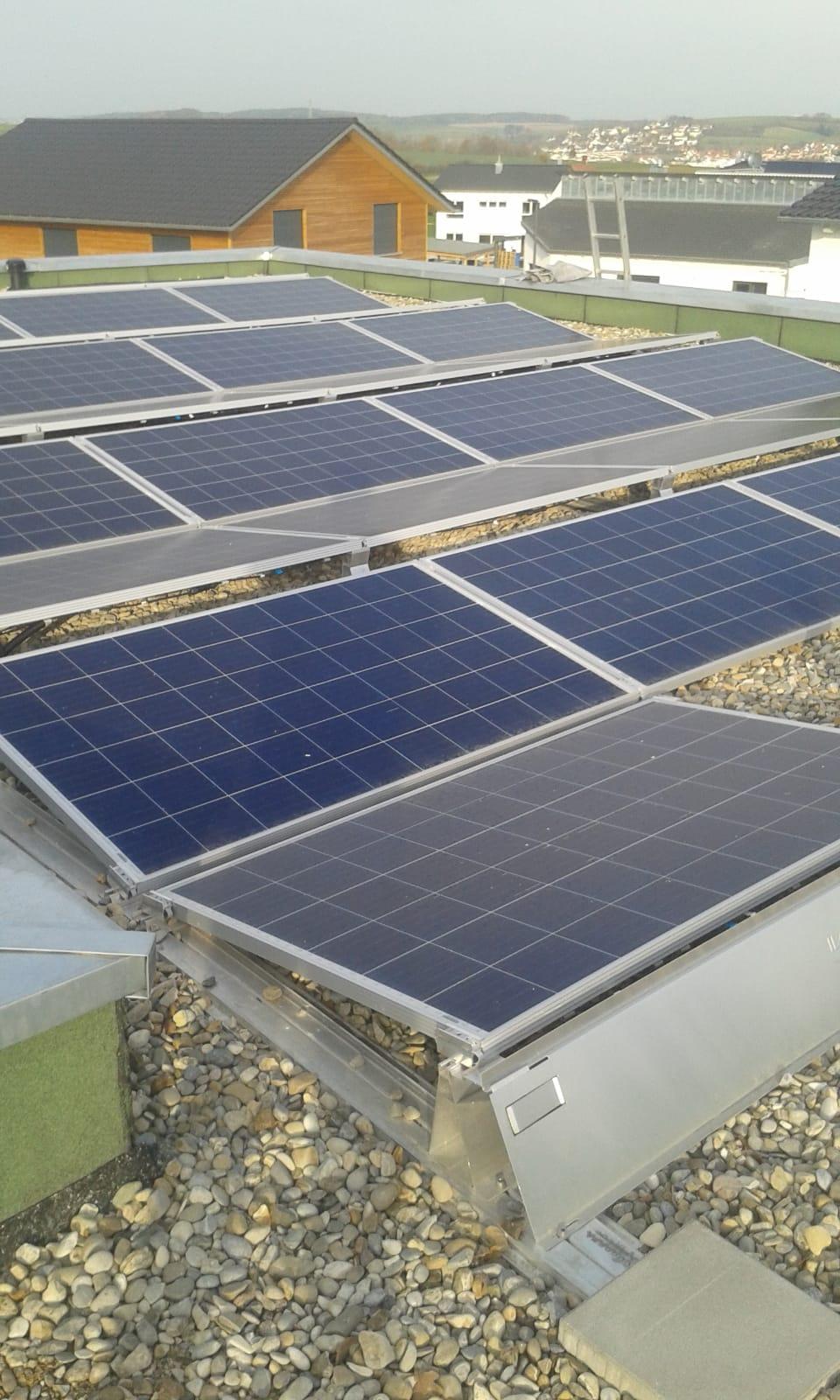 Solarmodule aufgeständert