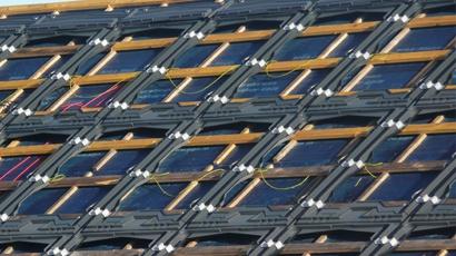 Dachhaut einer Indachanlage