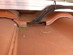 Solarkabel Dachziegel