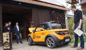 Tazzari Zero, das coolste Elektroauto.