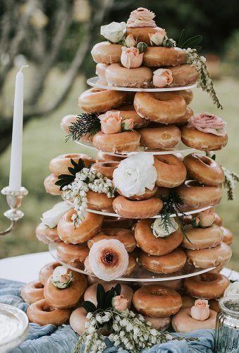 gâteau de mariage donuts