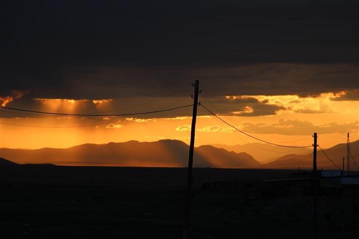 Letzter Blick zurück auf das russische Altai