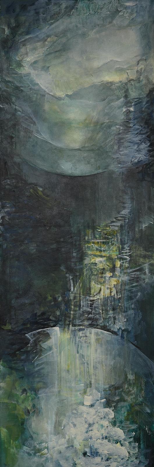 Krajina * akryl na plátně * 40/110