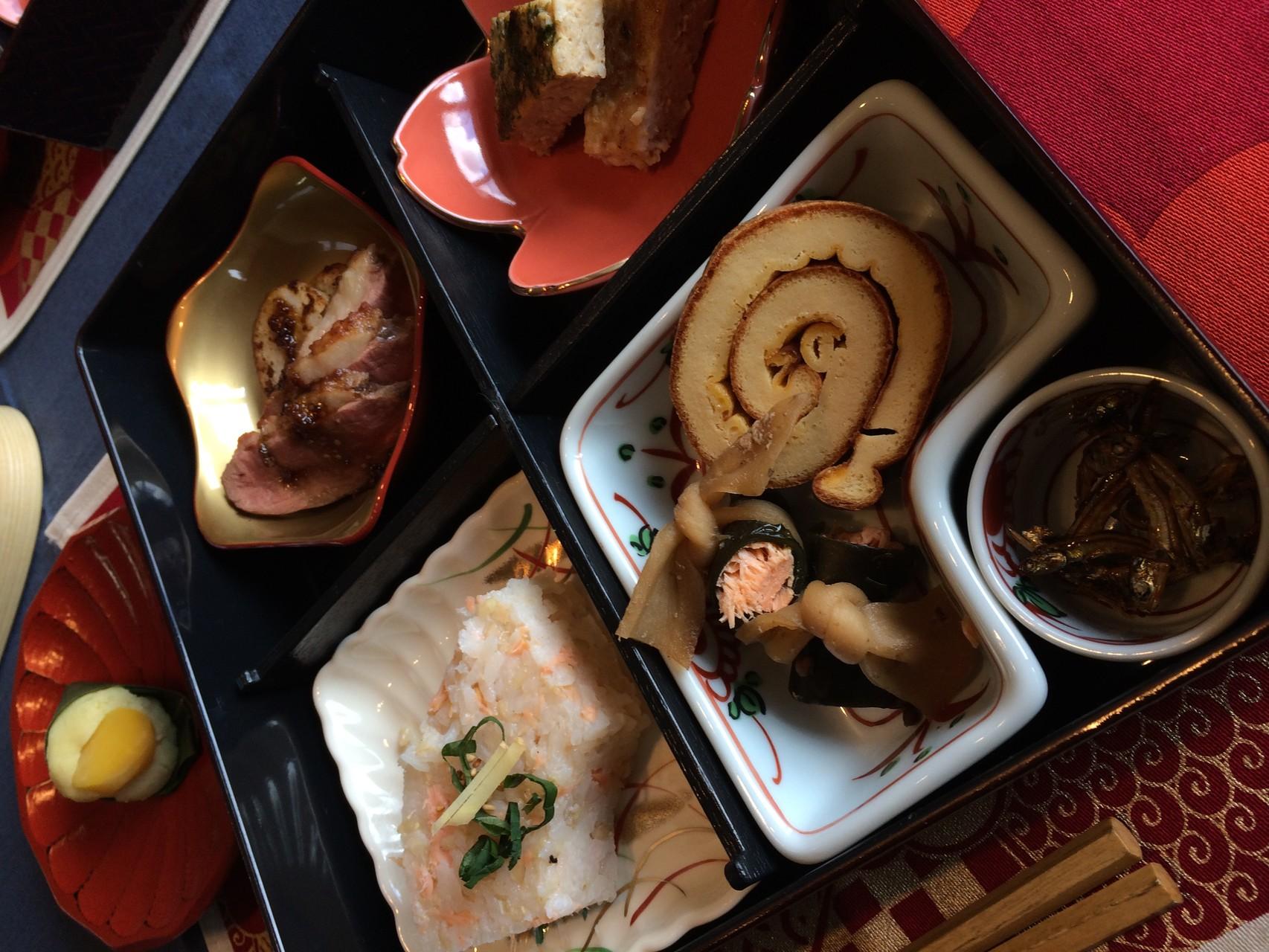 松華堂弁当でお楽しみいただきました