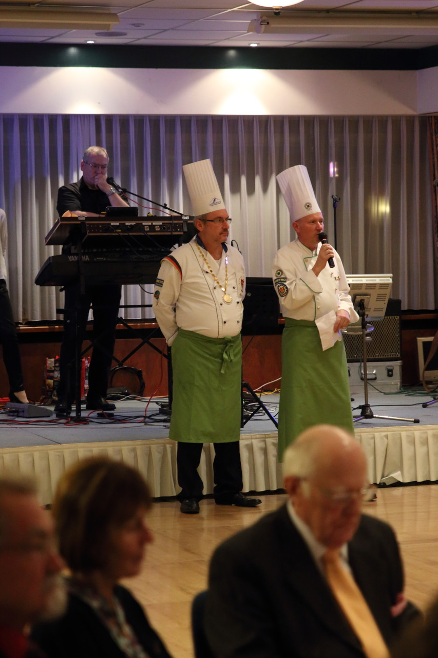 Die Begrüßung der Gäste von Thomas Kehr und Markus Schmidt!