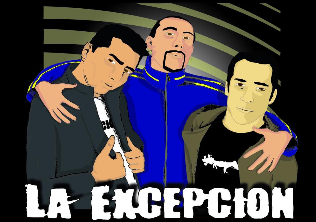 Imagen coorporativa para grupo Hip Hop