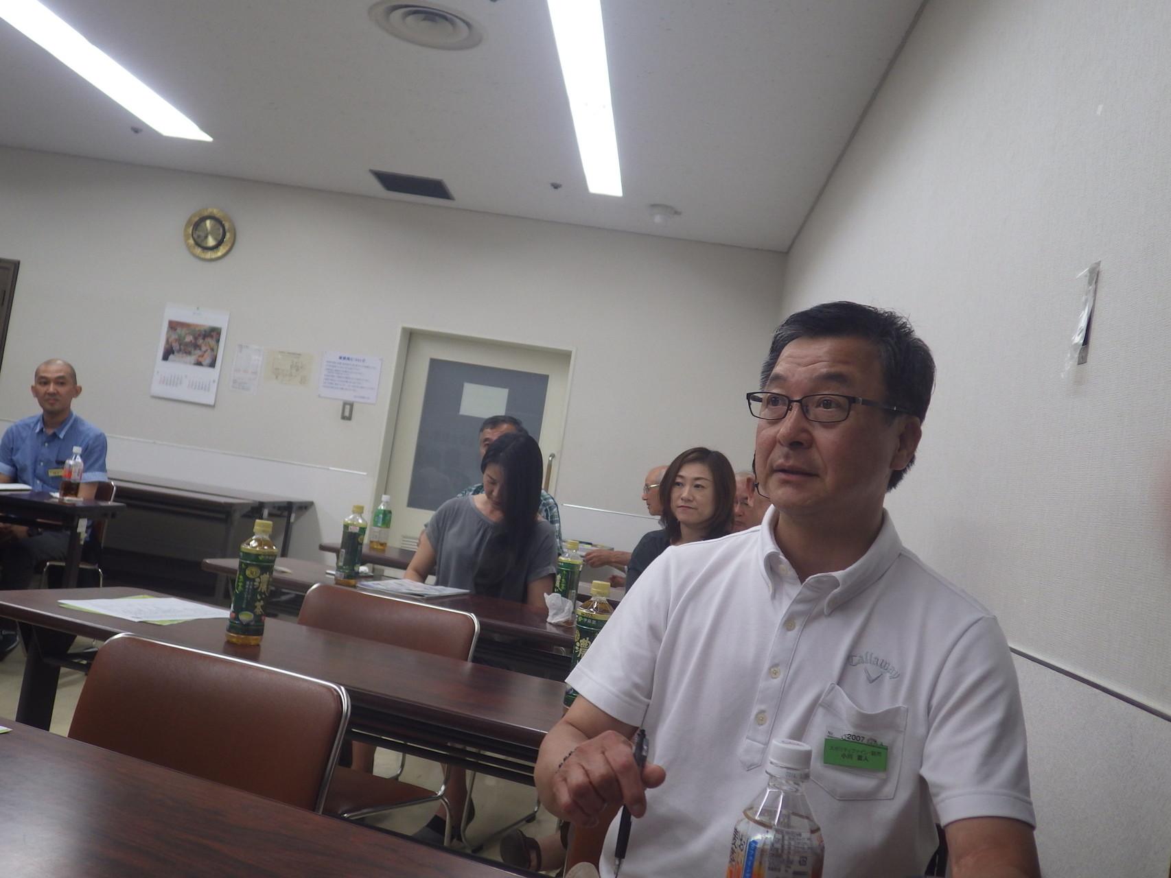 スポリティファイン 顧問 市会議員の小川さん