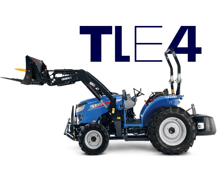 Iseki TLE 4490 - Traktor mit 48 PS Dieselmotor