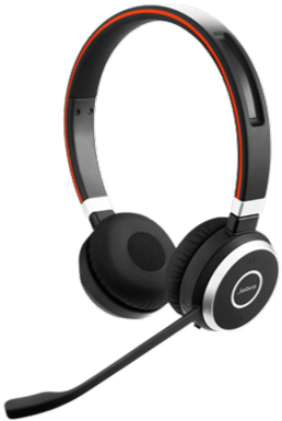 Jabra EVOLVE 65 UC Stereo: Schnurloses Bluetooth Headset