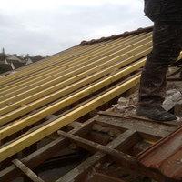 travaux de toit