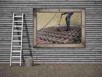 nettoyage couverture de toit