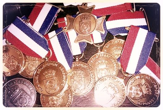 Medaille oogst S.V. Het Trefpunt