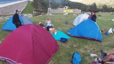 Le camping des ados aux Bouillouses