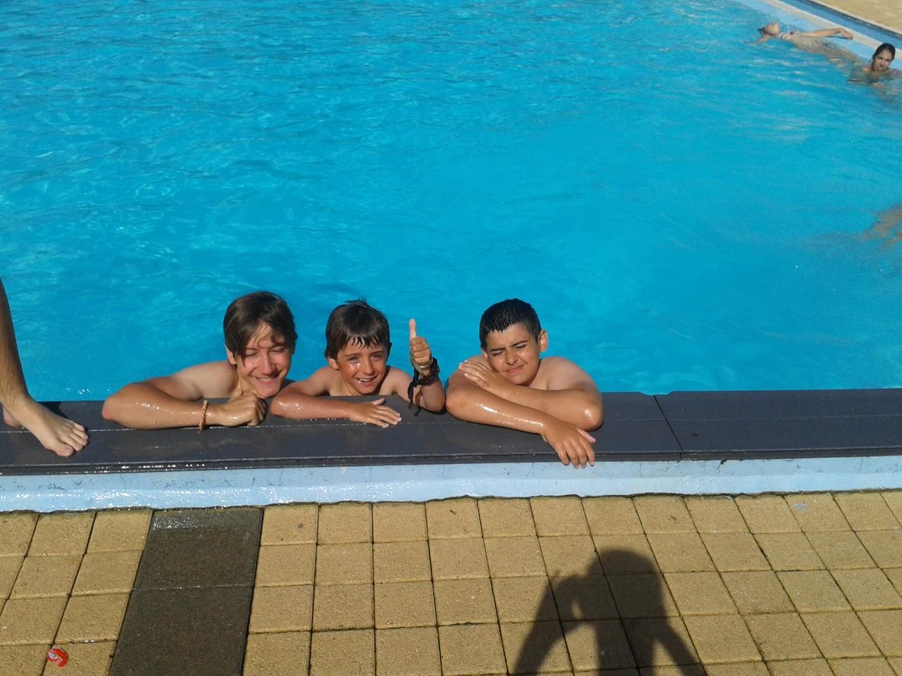La matinée piscine