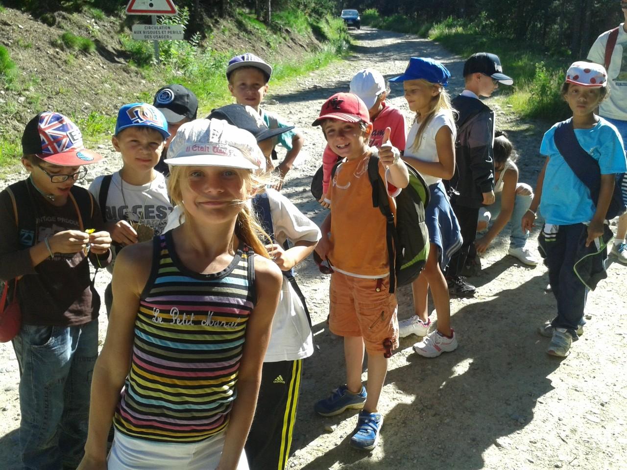 Départ au camping des plus jeunes