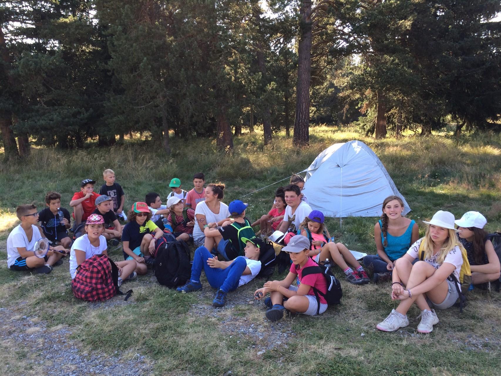 Rando + camping des petits