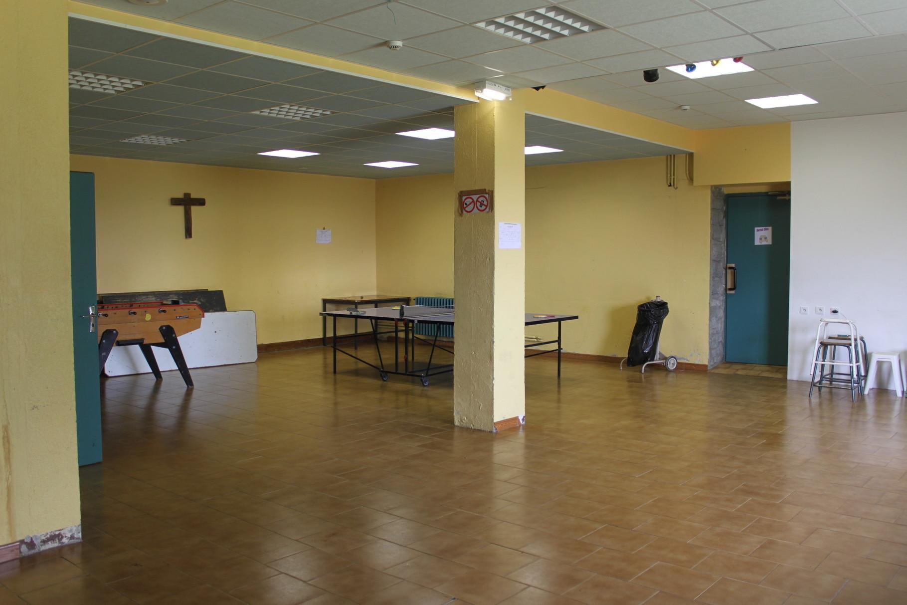 La salle de jeu