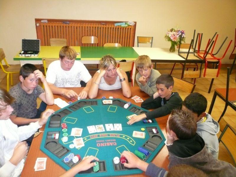 Veillée ''casino''