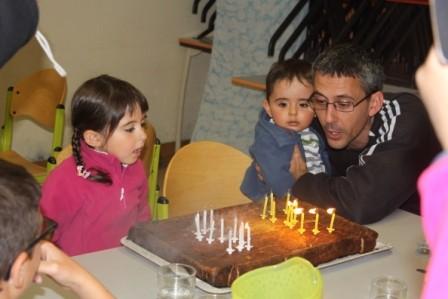 Et un anniversaire ca se fête avec un bon poudding !!