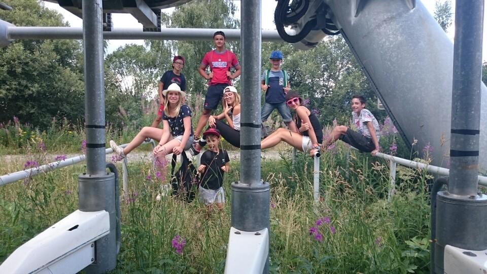 Rallye photo dans les environs de la colo