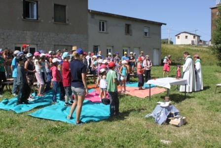 Journée des parents : Messe en plein air