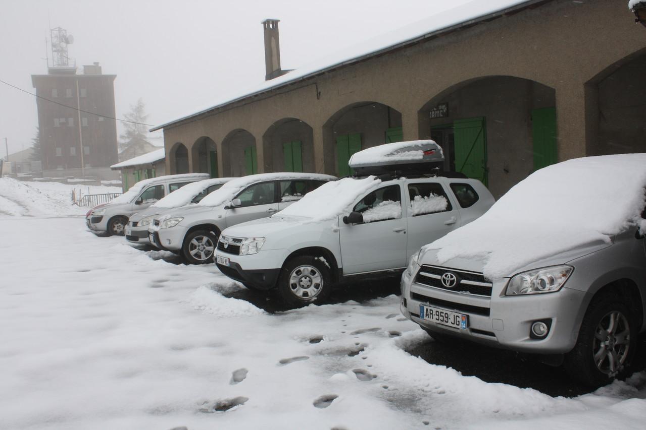 Samedi matin 18 Mai sous la neige