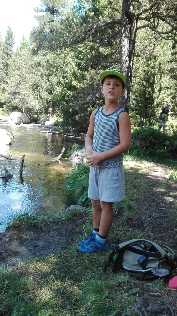 Randonnée et camping des plus petits