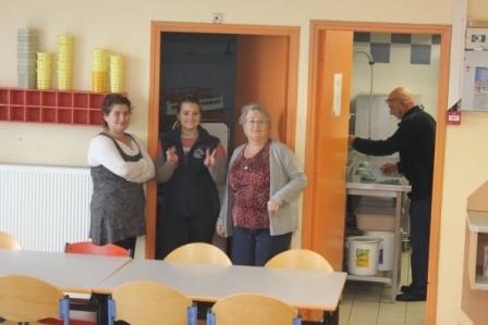 L'équipe cuisine