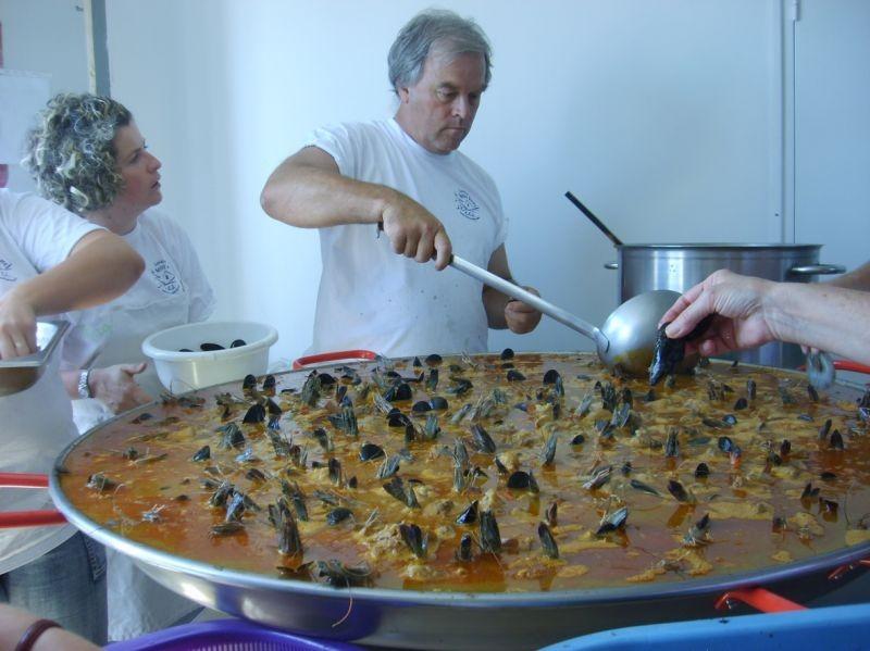 Le chef paella