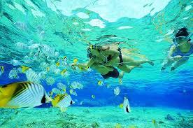 Balade aquatique dans les îles de l'archipel.