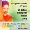 Auszeichnung UN-Dekade Biologische Vielfalt