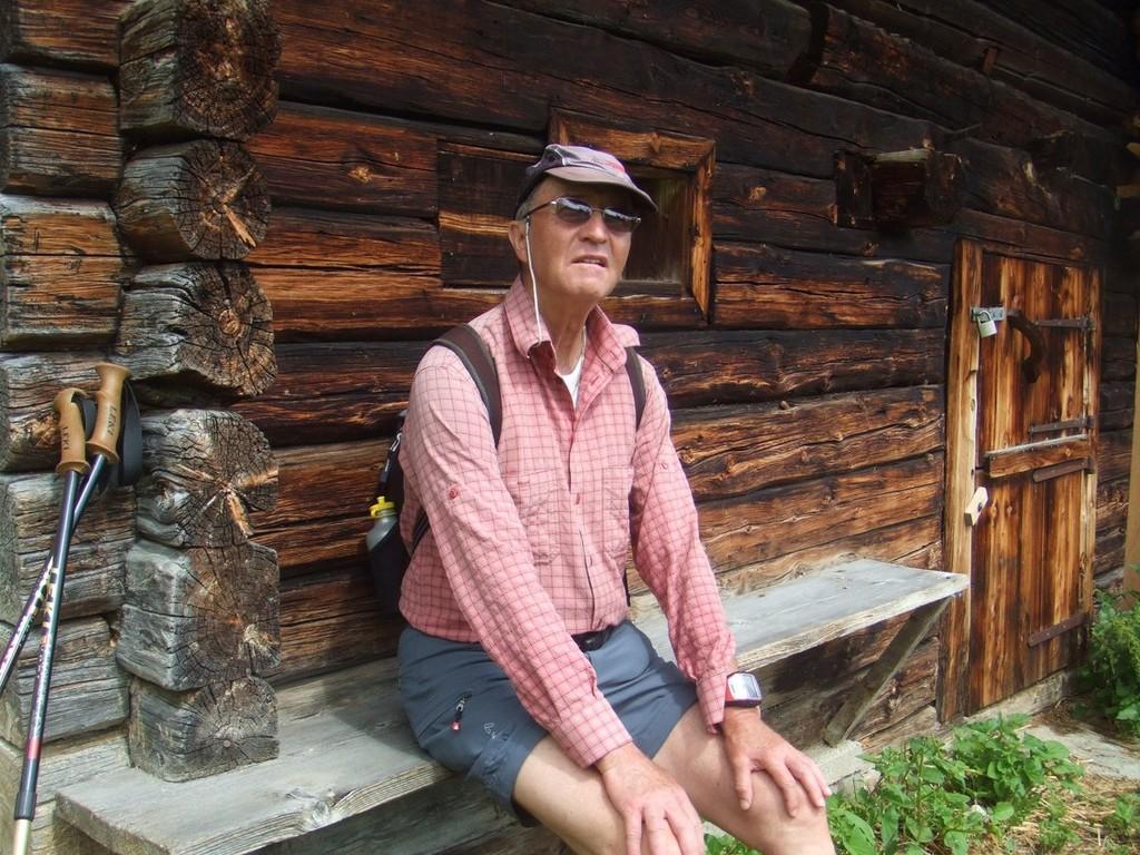 Wanderung Stoankasern - Grüblspitze im Juli 2012