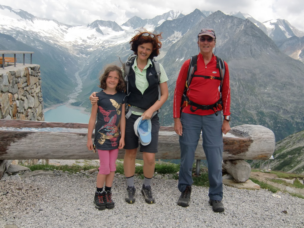 Wandern im Naturpark Zillertaler Alpen - Olpererhütte