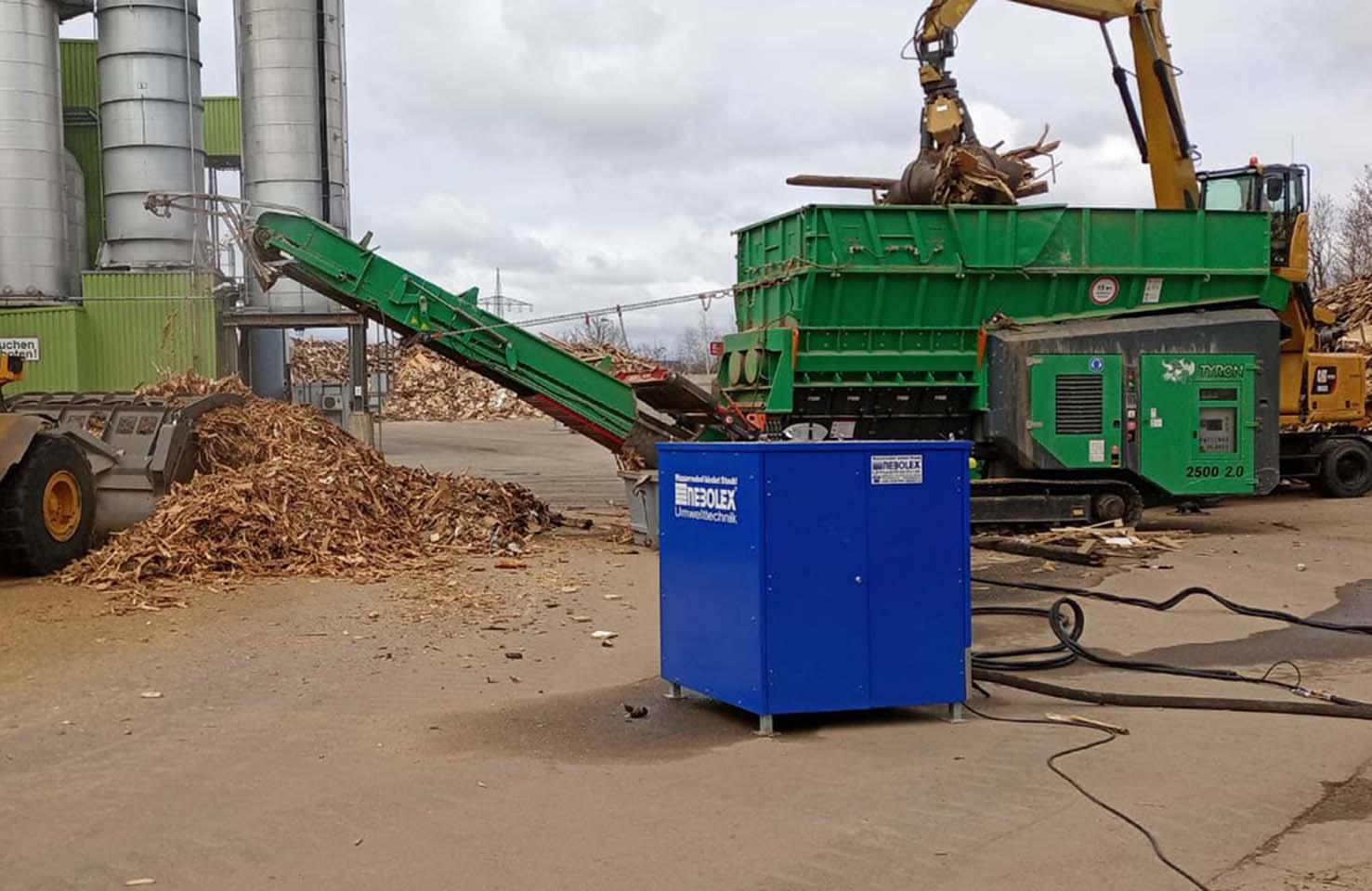 Recycling von Abfall und Wertstoffen