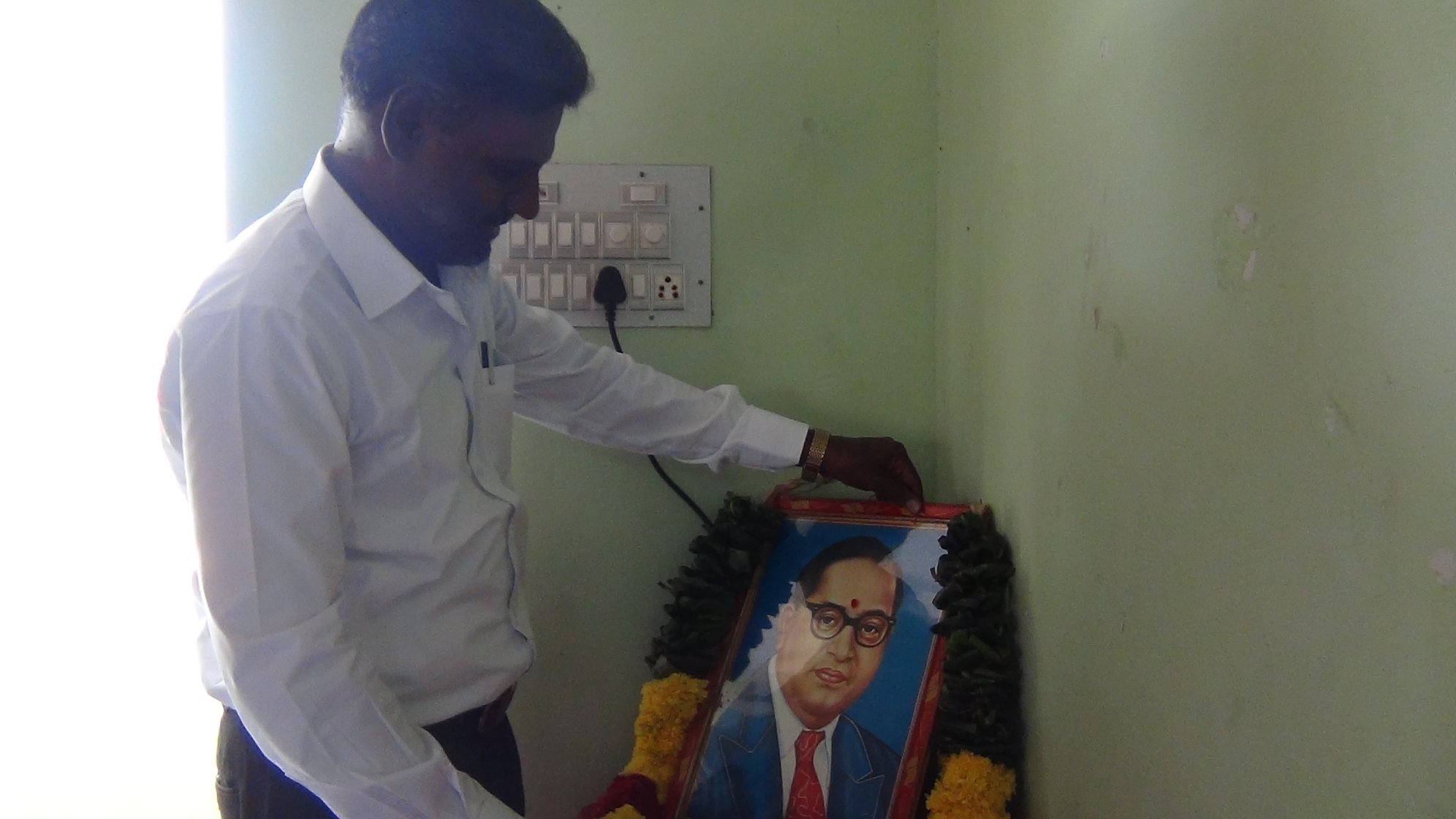 First of all, let us pay tribute to our Guide, Dr Ambedkar.
