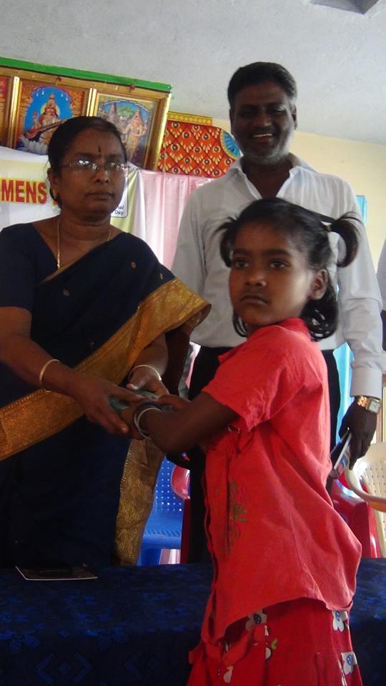 Les enfants sont encouragés par la RDO.