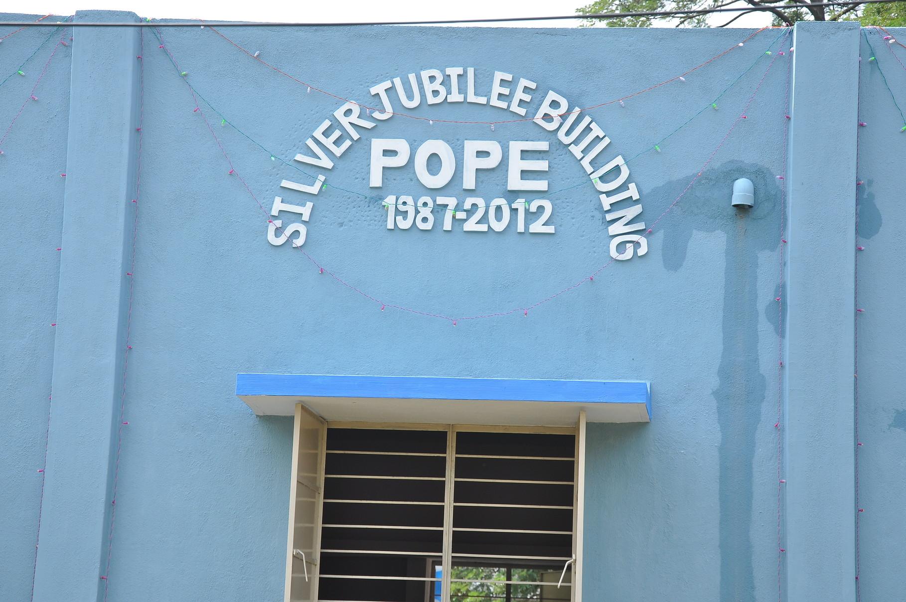 POPE a accepté d'être le porteur du projet lors de la célébration des 25 ans de POPE.