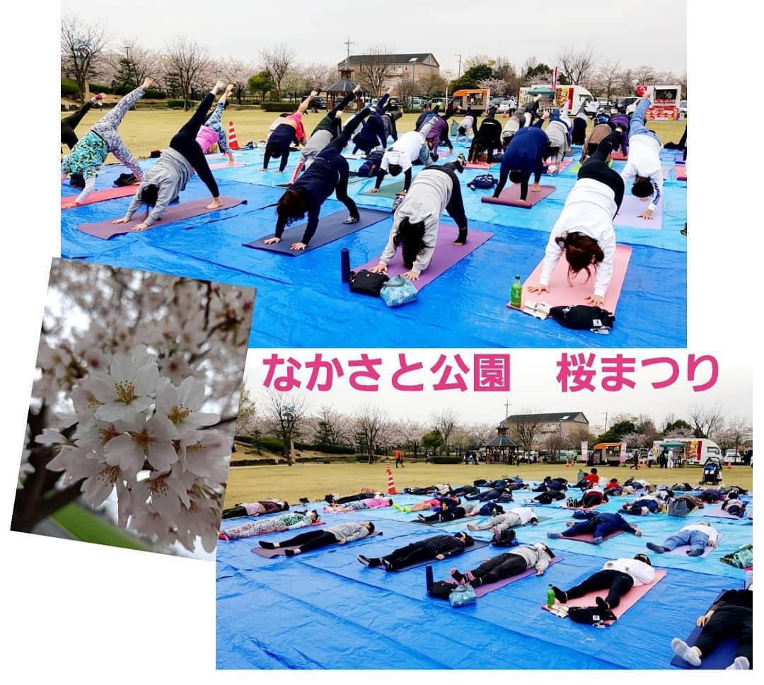 なかさと公園 桜まつり
