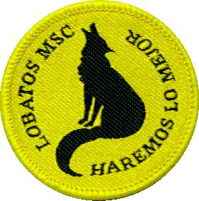 Insignia de Rama Lobatos para MSC