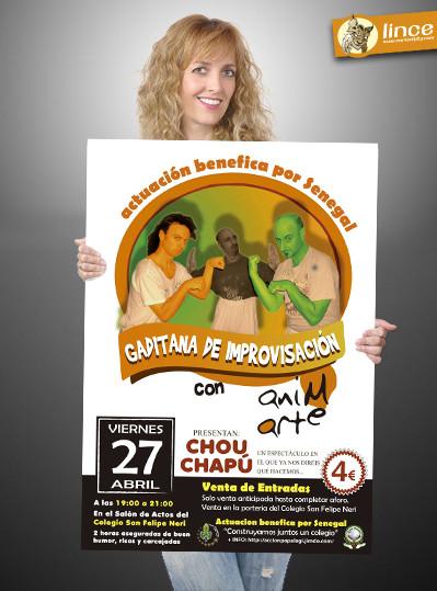 Actuación benefica de Chou chapu