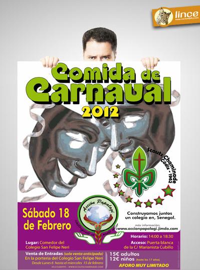 Comida solidaria de Carnaval 2012