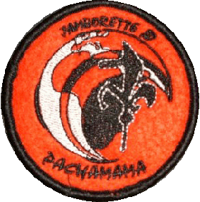 Insignia Jamborette Nacional - Grupos Scouts Marianistas - España