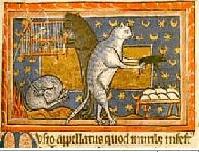 картинка из средневековой книги