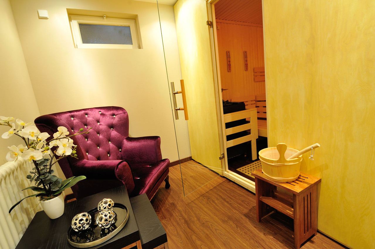 Sauna- und Wellnessbereich