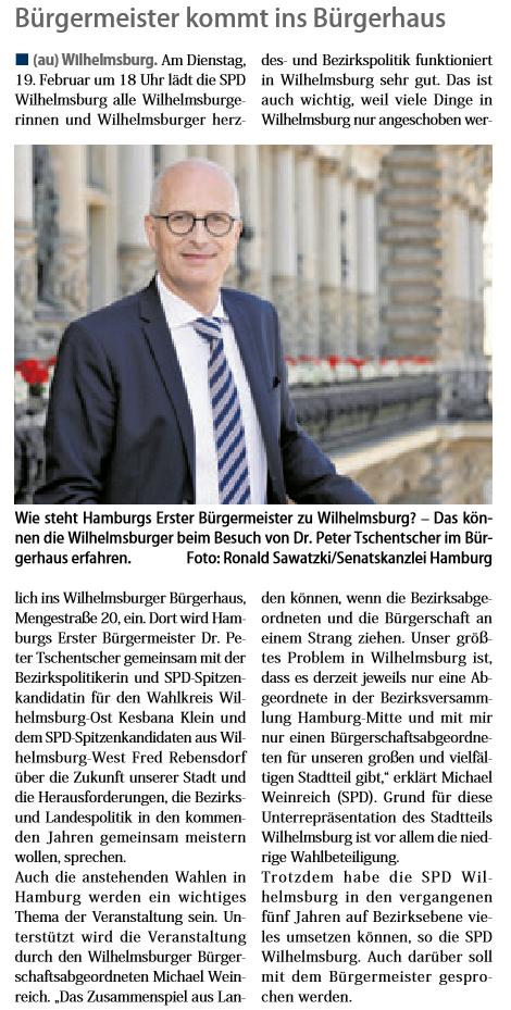 Neuer Ruf Wilhelmsburg 02.02.19